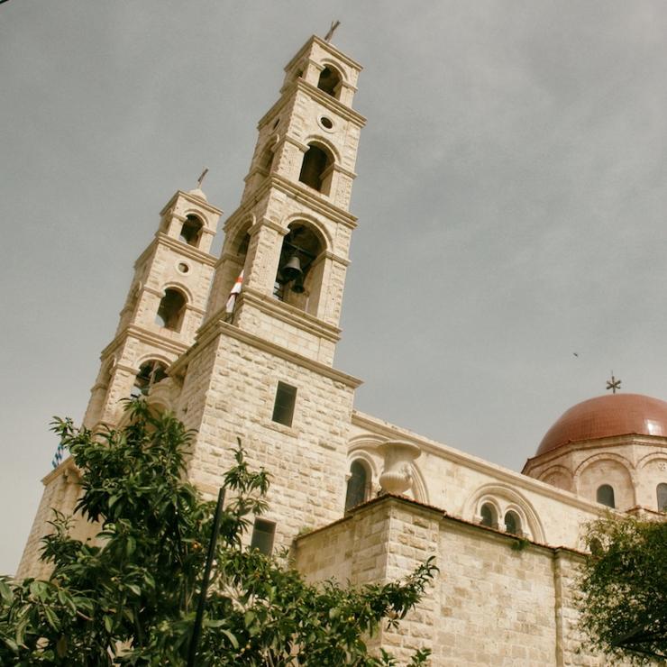 De kerk. Foto's © Alfred Muller