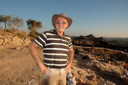 Professor Yosef Garfinkel. Foto: © Alfred Muller
