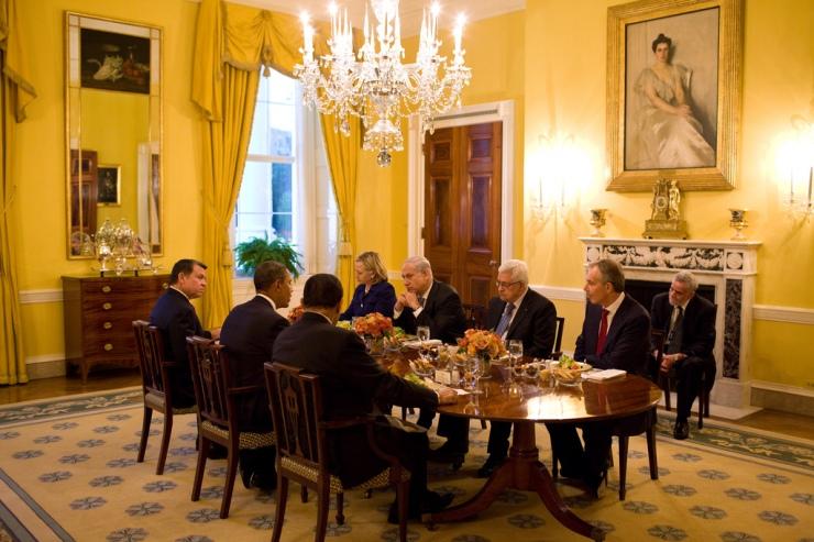 In het Witte Huis, 1 september 2010. Foto: White House,  Pete Souz