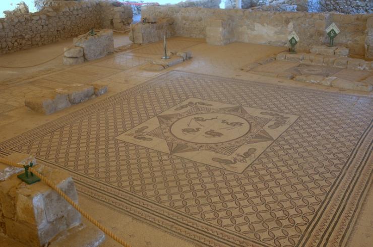 ALMU20110104_3462 Engedi synagoge mozaiek
