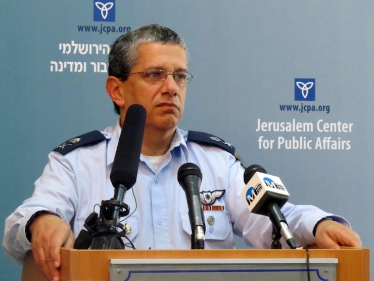 Generaal-majoor Amir Eshel