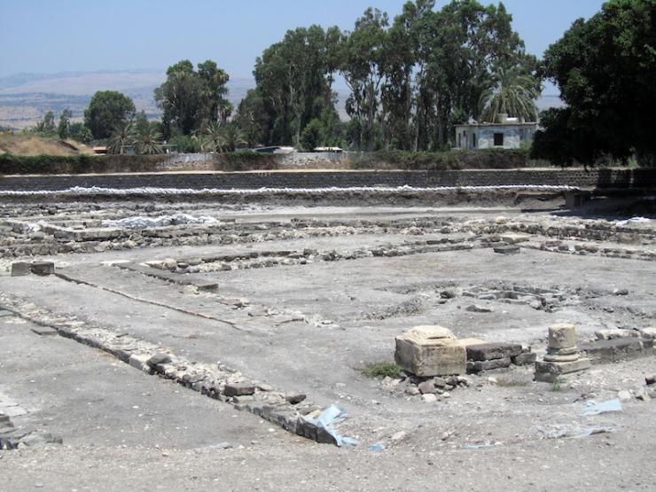 ALMU20110708_1731 Magdala, stadscentrum, opgegraven door fransciscanen