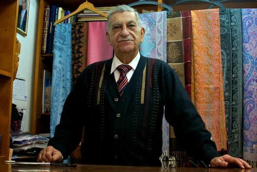Sami Barsoum in zijn winkel. Foto's © Alfred Muller