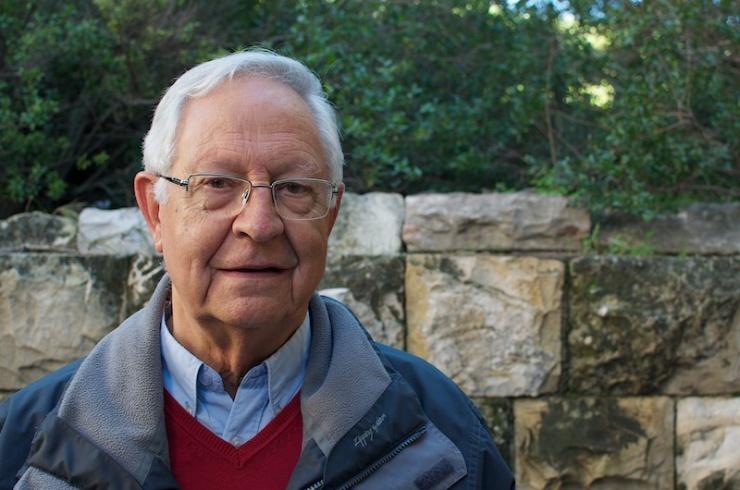 Professor Pau Figueras: 'Wie een hoog cultureel niveau wilde bereiken, moest de Grieken kennen'  Foto: © Alfred Muller