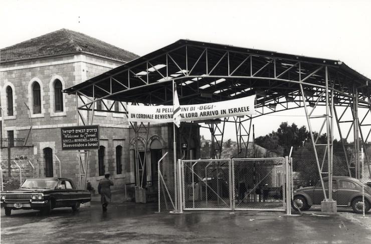 De stad Jeruzalem was tussen 1948 en 1967 in twee delen opgesplitst. alleen bij de