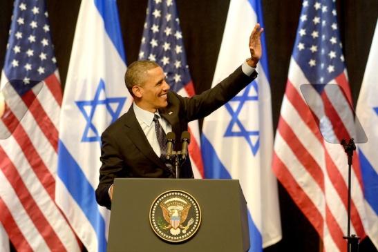 Obama in zijn toespraak tot het volk. Foto: GPO