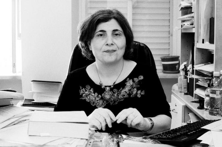 Dr. Iael Nidam-Orvieto van het Instituut voor Holocaust Research Yad Vashem in Jeruzalem. Foto: Alfred Muller