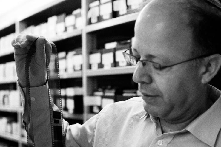Dr. Haim Gertner, directeuir van het archief van Yad Vashem. Foto: © Alfred Muller