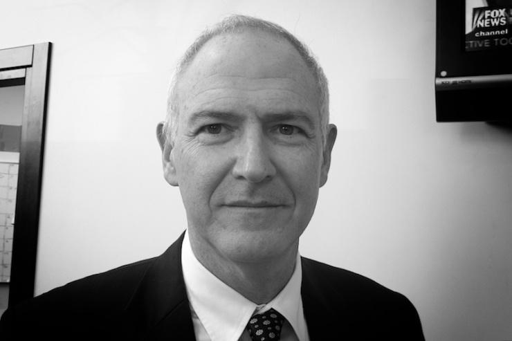 Iran-deskundige dr. Eldad Pardo van de Hebreeuwse Universiteit van Jeruzalem. Foto: © Alfred Muller