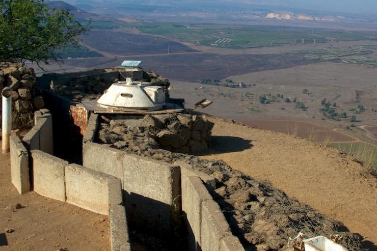 Aan de grens met Syrië. Foto: © Alfred Muller.