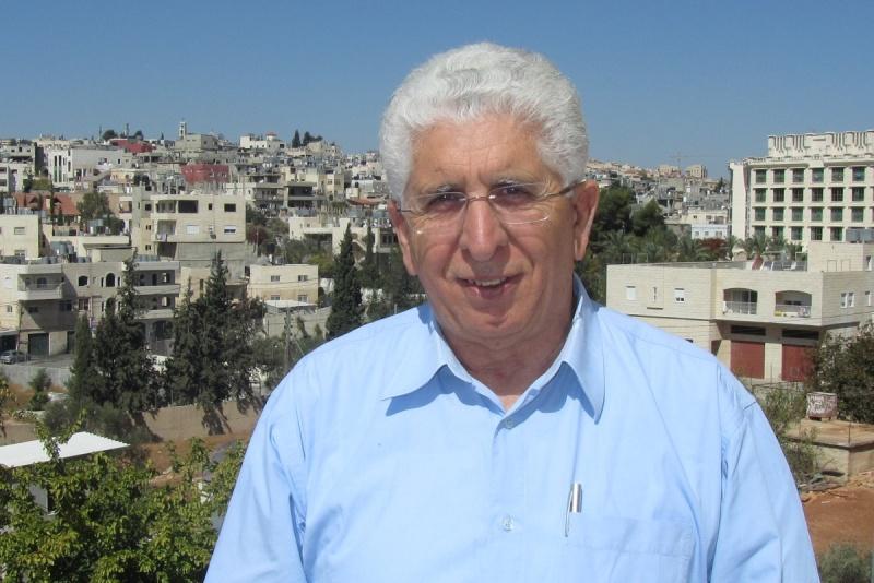 Ds. Alex Awad na terugkomst in Bethlehem. Foto: © Alfred Muller