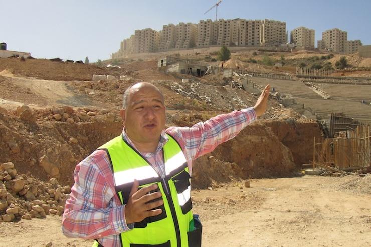 Amir Dajani adjunct-projectdirecteur. Foto: © Alfred Muller