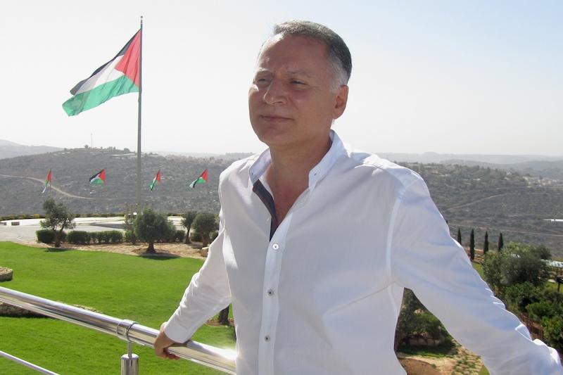 De Palestijnse zakenman Bashar Masri, directeur van het investeringsbedrijf Bayti Real Estate. Foto: © Alfred Muller