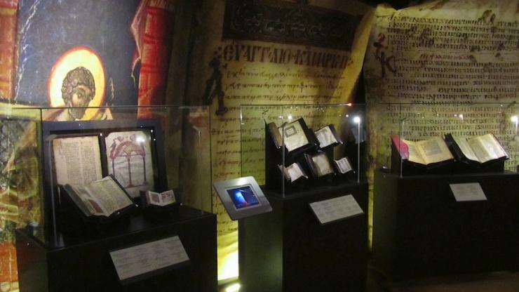 Expositie over 'Het boek der Boeken' in het Bijbellandenmuseum. Foto: © Alfred Muller
