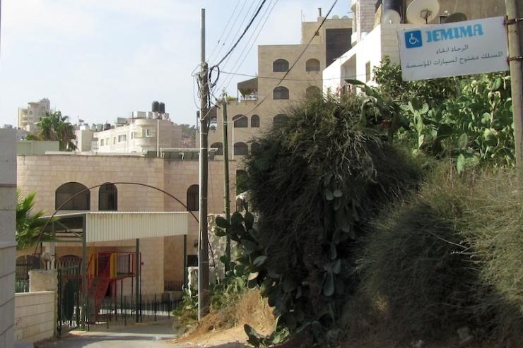 Jemima in Beit Jala. Foto: © Alfred Muller