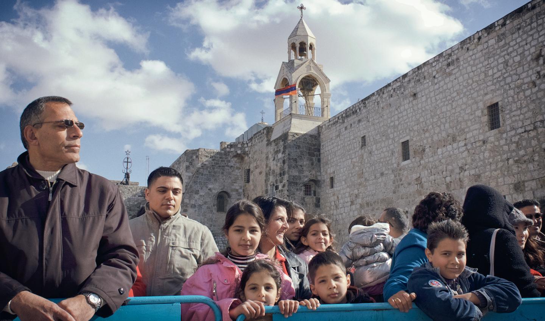 Palestijnse christenen...