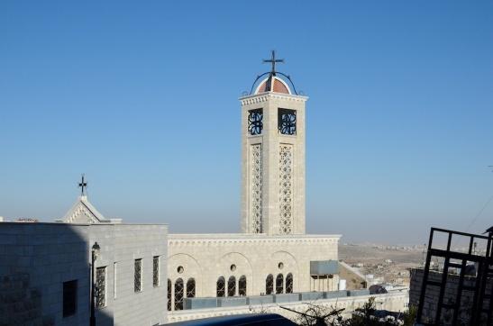 Een van de kerken die Bethlehem rijk is.
