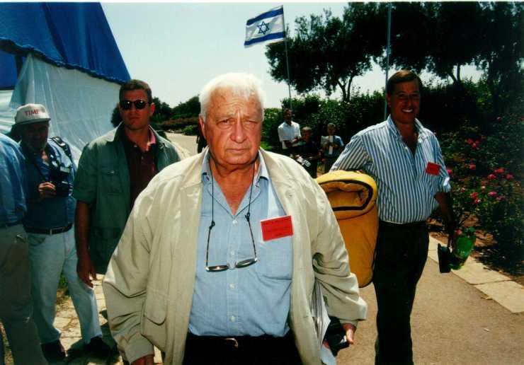 De vroegere premier Ariël Sharon. Foto: GPO.