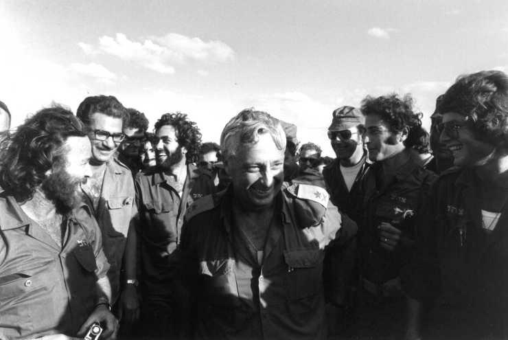 Ariel Sharon 1973 Suez Kanaal