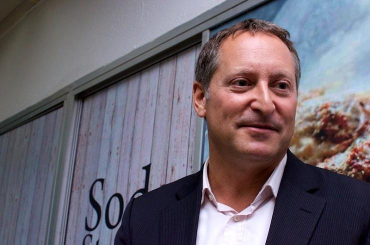 Daniel Birnbaum, CEO van SodaStream. Foto: © Alfred Muller.