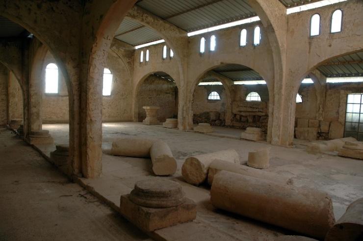 Overblijfselen van een Byzantijnse kerk die door de Denen werd opgegraven. Foto: © Alfred Muller