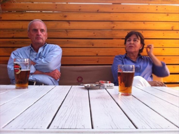 Ad Bloemendaal en Ankie Spitzer (ofto met dank aan Monique van Hoogstraten).
