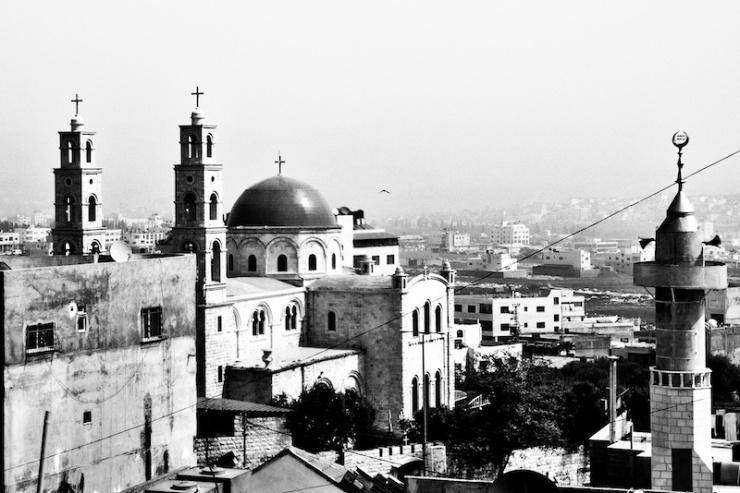 Nablus op de Westelijke Jordaanoever staat momenteel onder Palestijns zelfbestuur. Foto:  © Alfred Muller