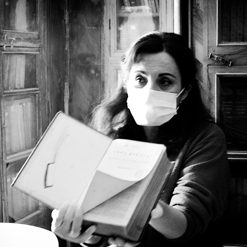 Kunsthistorica Angela Maria Arbelaez.