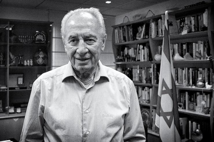 President Shimon Peres. Foto: © Alfred Muller