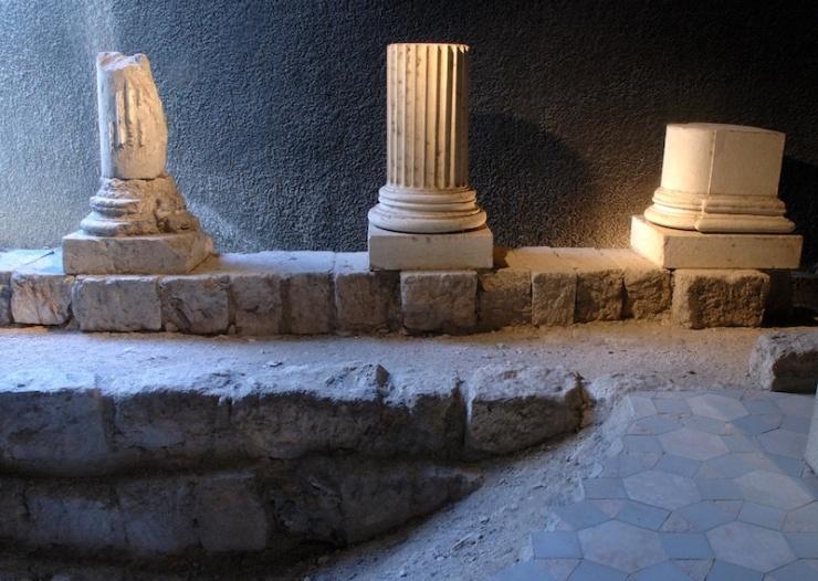 Het huis van Peristyl.