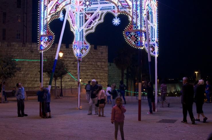 Light in Jerusalem 2014