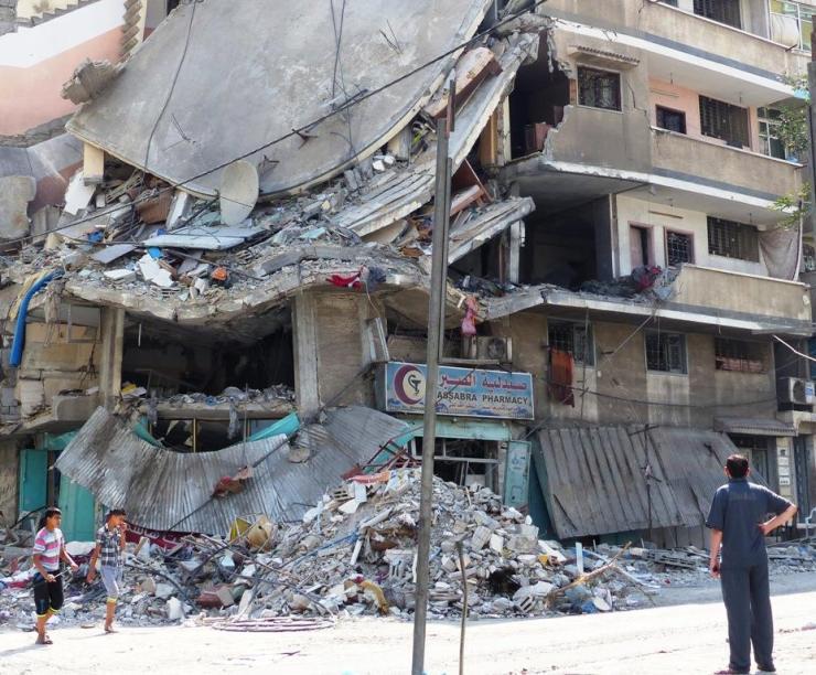 Gaza. Foto: OCHA.
