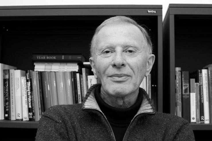 Professor Robert Wistrich, Hebreeuwse Universiteit van Jeruzalem. Foto: Alfred Muller