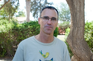Dr. Uri Rosset in kibboets Magen. Foto: © Alfred Muller