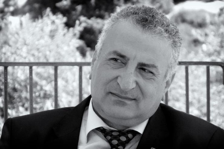 Dr. Mohamad Kamal Al-Labwani: naar een democratisch Syrië. Foto: © Alfred Muller