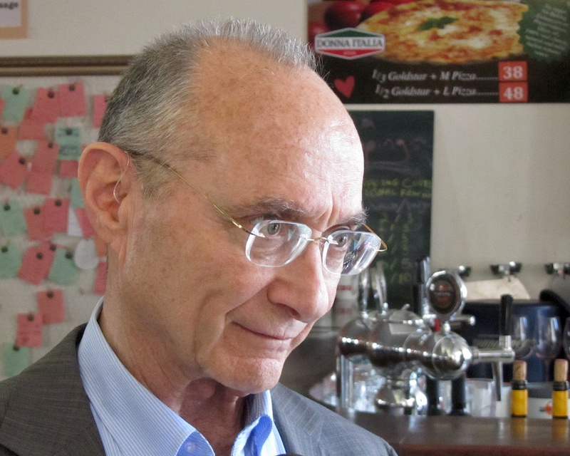 Dr. Uzi Landau, de minister van Toerisme. Foto: © Alfred Muller