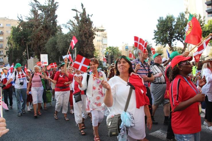 Jerusalem-marsj løvhyttefest 2014 Danmark (H.N.)