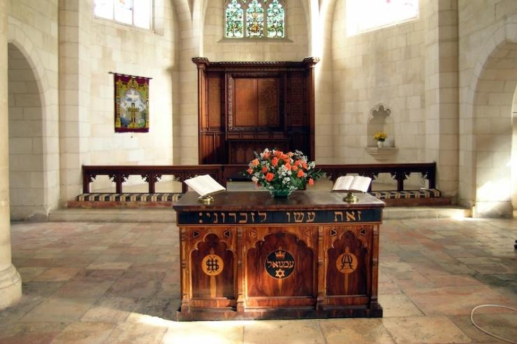 De Jeruzalem Christ Church is een van de plekken die als ontmoetingspunt heeft gediend tussen Arabische en Joodse gelovigen. Foto: © Alfred Muller
