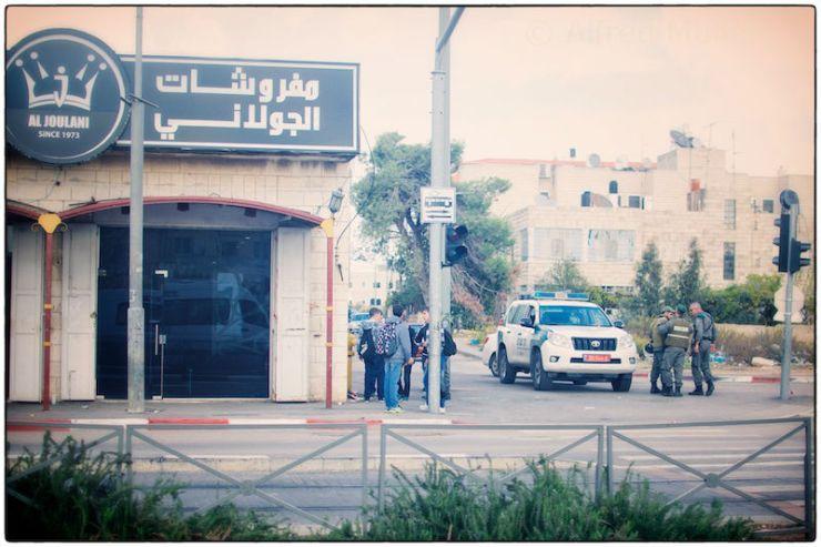 Veiligheidsmaatregelen in Jeruzalem. Foto: © Alfred Muller