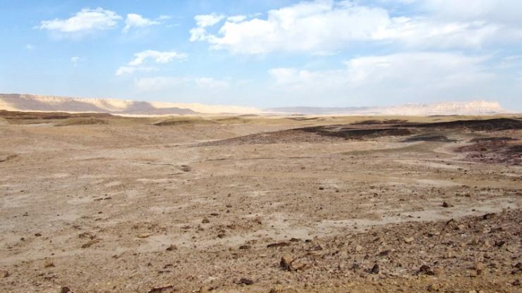 Het landschap van een vroegere kleimijn is hersteld. Foto: © Alfred Muller.