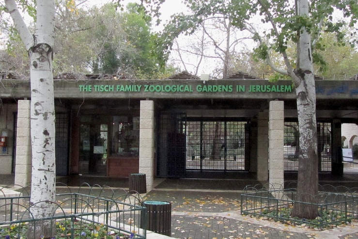 Het Bijbelse dierenpark in Jeruzalem.
