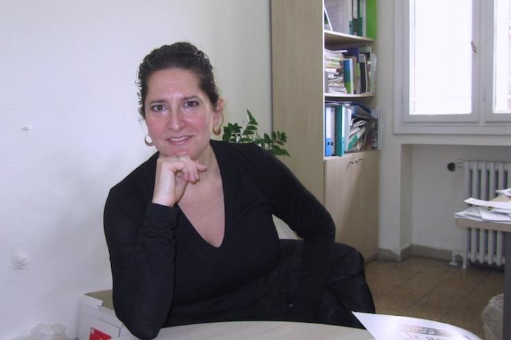 Betty Herschman, directeur van internationale relaties en pleitbezorging van Ir Amim. Foto: © Alfred Muller