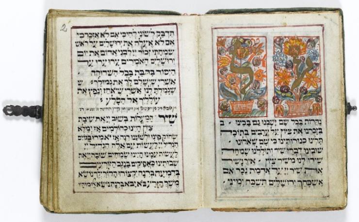 Joden in Babylon schreven de Babylonische talmoed tussen de 3de en 5de eeuw voor Chr. Dit exemplaar werd na de Tweede Wereldoorlog in Duitsland gedrukt.  Foto: Ardon Bar-Hama. Met dank aan: Gross familie Collectie.