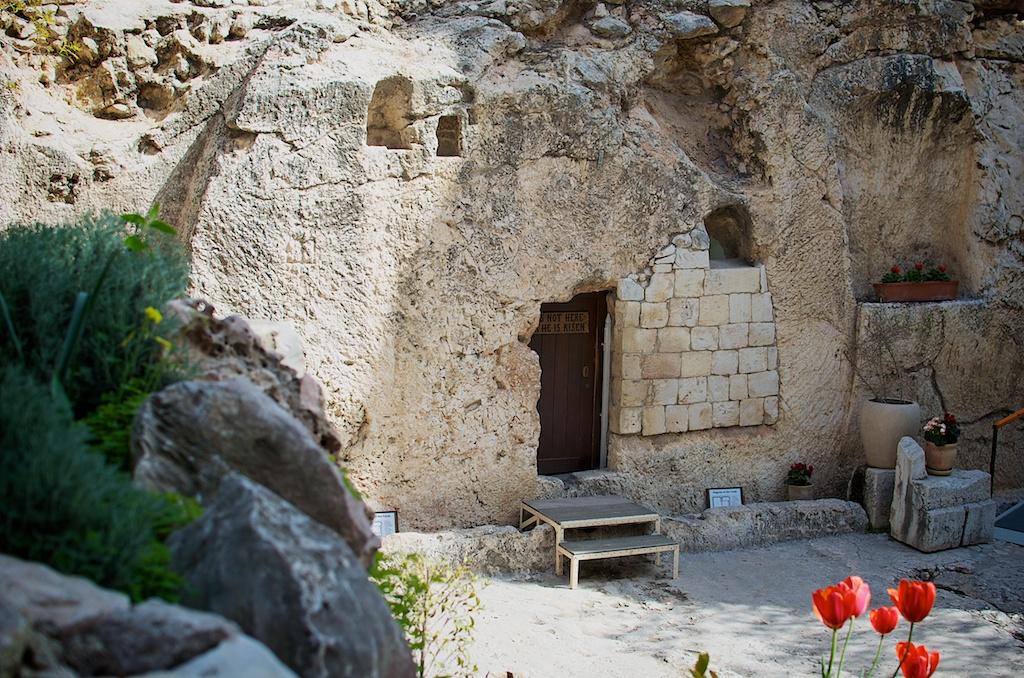 De Graftuin in Jeruzalem: een plaats waar christenen zich een voorstelling kunnen vormen van de plaats waar de Opstanding plaatsvond. Foto's: © Alfred Muller.