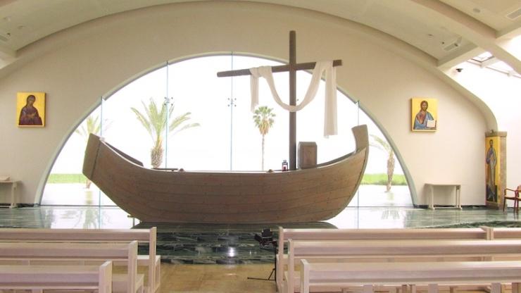 In het geestelijk centrum Duc in Altum.