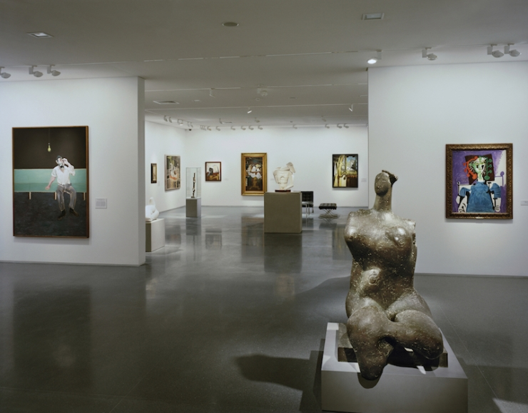 Modern Art galleries by Tim Hursley