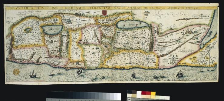 Christiaan van Adrichem, 1533-1585,