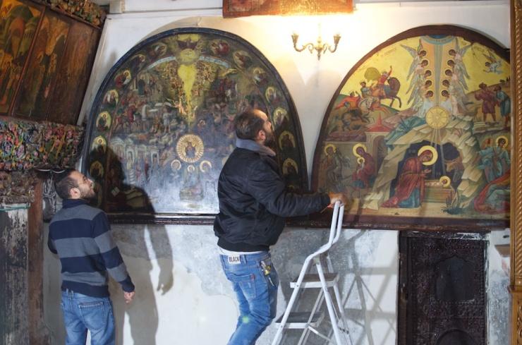 Nativity Church repairs ALMU20151217_7494