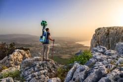 Israel National Trail on Google Photo by Menahem Reiss
