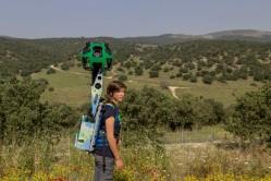 Israel National Trail on Google trekker Photo by Menahem Reiss 1